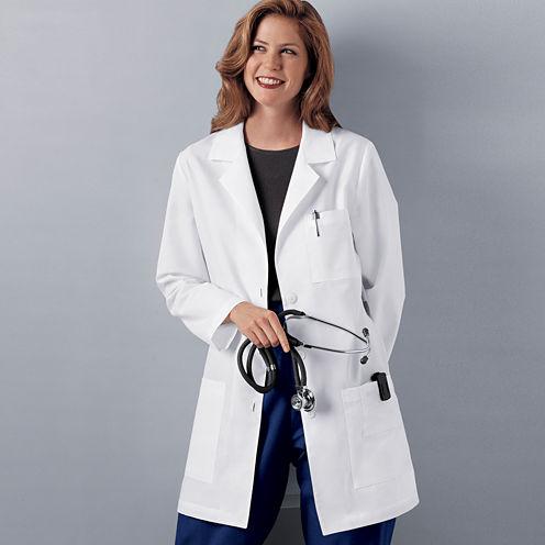 """Cherokee® Womens 32"""" Lab Coat"""