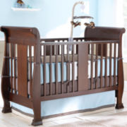 Savanna Bella Convertible Crib - Espresso