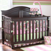 Bedford Baby Monterey Chocolate Convertible Crib