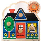 Melissa & Doug® Jumbo Knob Shapes Puzzle