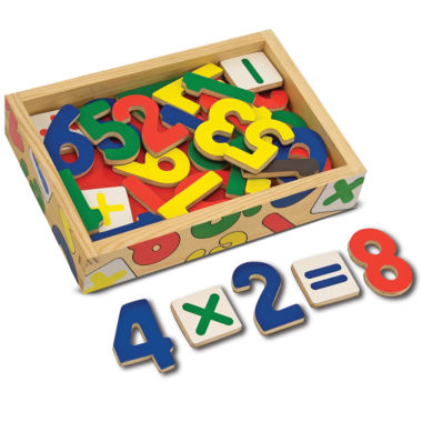 jcpenney.com | Melissa & Doug® Magnetic Wooden Numbers Set