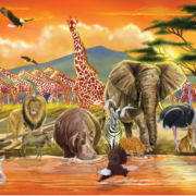 Melissa & Doug® 100-pc. Safari Floor Puzzle