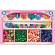 Melissa & Doug® Sweet Hearts Wooden Bead Set