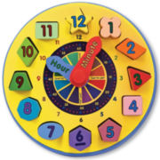 Melissa & Doug® Shape Sorting Learning Clock