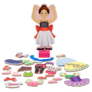 Melissa & Doug® 27-pc. Ballerina Magnetic Dress Up