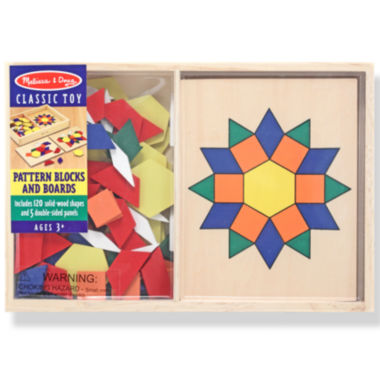 jcpenney.com | Melissa & Doug® Pattern Blocks and Boards
