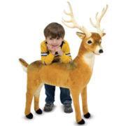 Melissa & Doug® Plush Deer Stuffed Animal