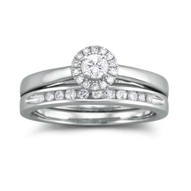 jcpenney.com | I Said Yes™ 1/3 CT. T.W. Certified Diamond Bridal Set