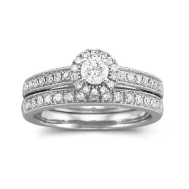 jcpenney.com | I Said Yes™ 1/2 CT. T.W. Certified Diamond Bridal Set