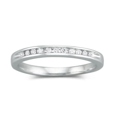 jcpenney.com | I Said Yes™ 1/10 CT. T.W. Certified Diamond Wedding Band