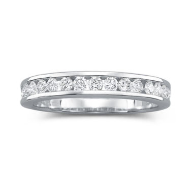 jcpenney.com | I Said Yes™ Diamond Ring, 1/2 CT. T.W. Certifed Diamond Channel Band