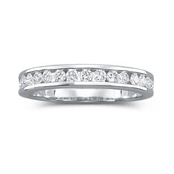 I Said Yes™ Diamond Ring, 1/2 CT. T.W. Channel Band
