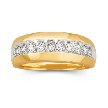 jcpenney.com | Mens Diamond Band 1 CT. T.W. 10K