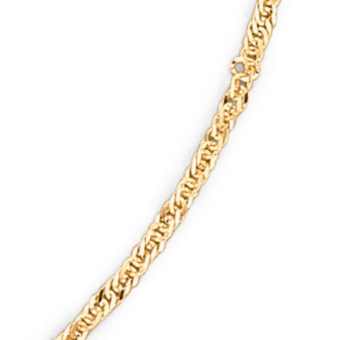 "jcpenney.com | Made in Italy 14K Gold 1.65mm 16-24"" Singapore Chain"