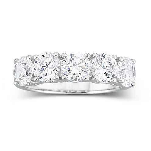 DiamonArt® 2 1/2 CT. T.W. Cubic Zirconia Wedding Ring