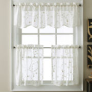Eliminaire® Naples Rod-Pocket Window Tiers