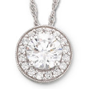 DiamonArt® Cubic Zirconia Pendant Necklace