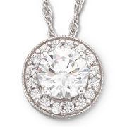 DiamonArt® Cubic Zirconia Pendant Necklace