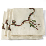 Lenox Holiday Nouveau 4-pc. Napkin Set