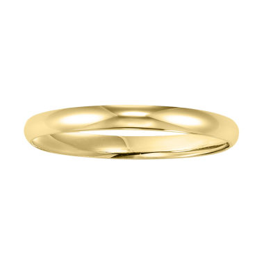 jcpenney.com |  Womens Gold Band, 2mm 10K Gold