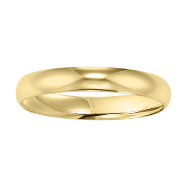 jcpenney.com | Womens 4mm 10K Gold Wedding Band