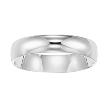 jcpenney.com |  Mens White Gold Ring, 5mm 10K