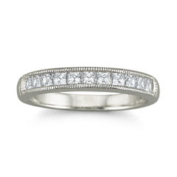 DiamonArt® Cubic Zirconia Wedding Ring