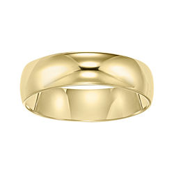BEST VALUE! Wedding Band, Womens 5mm 10K Gold