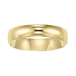 BEST VALUE! Men's Wedding Ring, 5mm 10K Gold