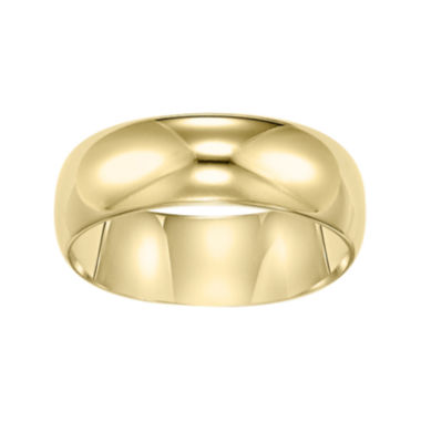 jcpenney.com |  Gold Wedding Band, Womens 6mm 10K