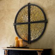 JCPenney Home™ Round Iron Metal Wall Decor