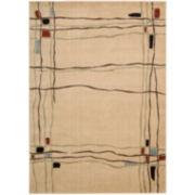 Nourison® Wavy Lines Rectangular Rugs