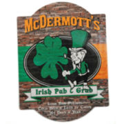 Cathy's Concepts Personalized Irish Pub & Grub Bar Sign
