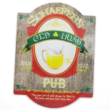 jcpenney.com | Cathy's Concepts Personalized Old Irish Bar Beer Sign