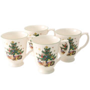 Nikko® Happy Holiday Set of 4 Coffee Mugs