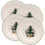 Nikko® Happy Holiday Set of 4 Salad Plates