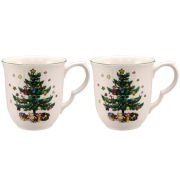 Nikko® Happy Holiday Set of 2 Coffee Mugs