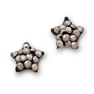 jcpenney.com | Sterling Silver Gray Star Earrings