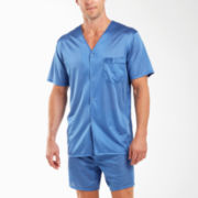 Stafford® Essentials Nylon Tricot Pajama Set