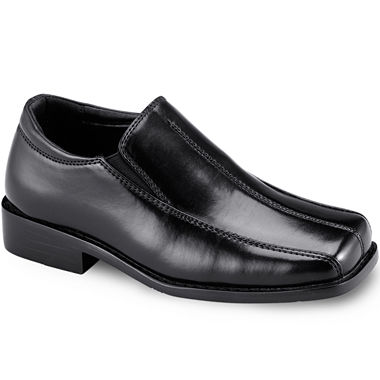 Stacy Adams® Nate Boys Bicycle Toe Slip-On Dress Shoes - Little ...