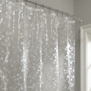 Maytex Fun Bubbles Vinyl Shower Curtain