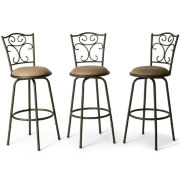 Madrid Set of 3 Adjustable Barstools