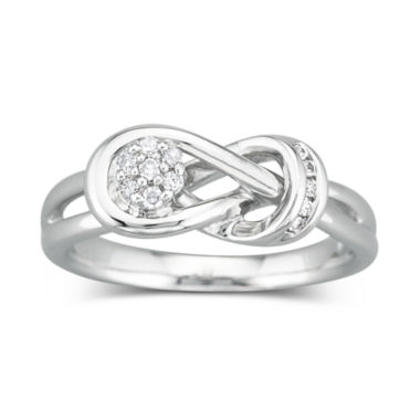 jcpenney.com | Diamond Ring 1/10 CT. T.W. Sterling Silver