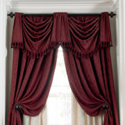 American Living Estate Taffeta Damask Window Treatments
