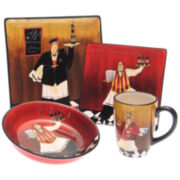 Bistro Chef Dinnerware Collection