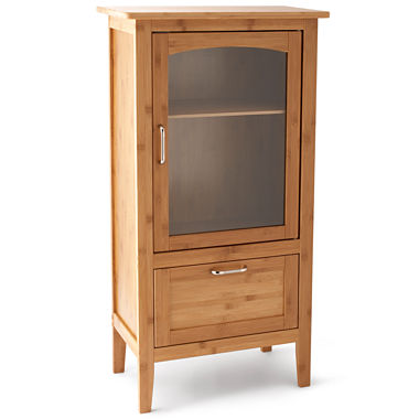 Bamboo Pantry Cabinet
