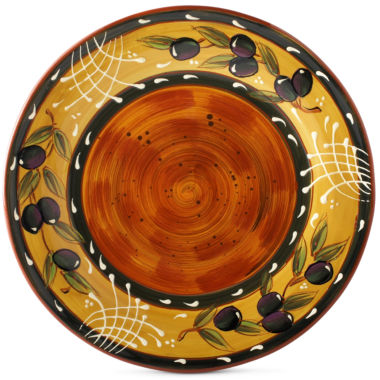 jcpenney.com | Certified International French Olive Set of 4 Dinner Plates