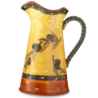 jcpenney.com | Certified International French Olive Pitcher