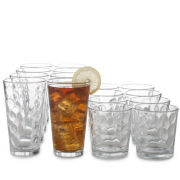 Libbey® Reno 16-Piece Glassware Set