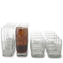 Libbey® Carrington 16-Piece Glassware Set